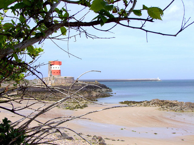 Archirondel Beach