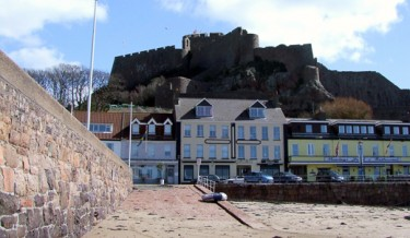 Gorey Castle and Harbour