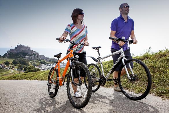 Cycling in Gorey